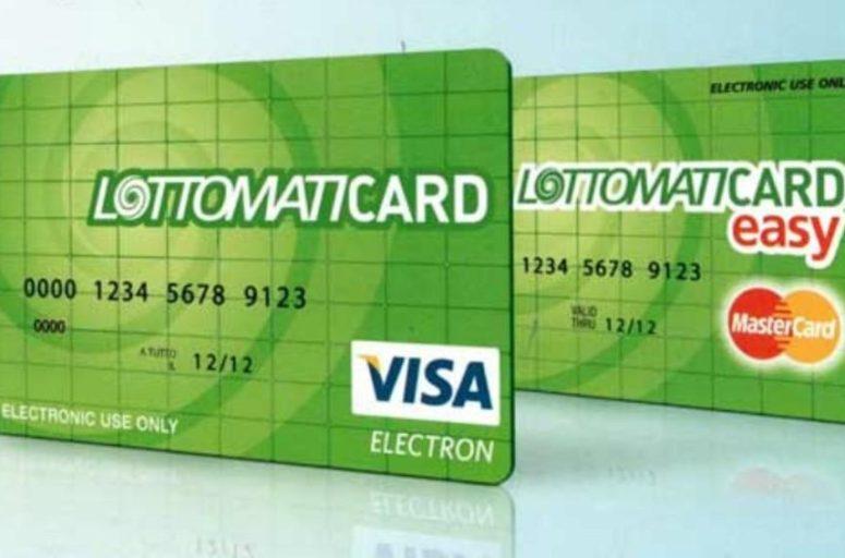 Lottomaticard non necessità di un conto corrente bancario di appoggio
