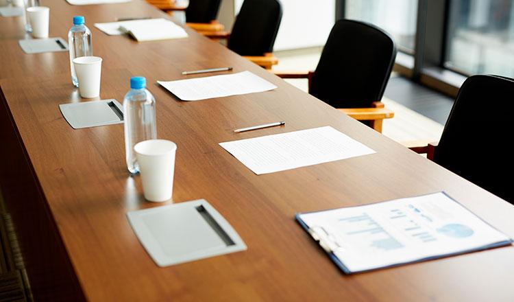 Preparazione evento aziendale